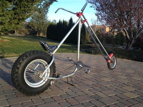 Custom Chopper Bicycle Build Images