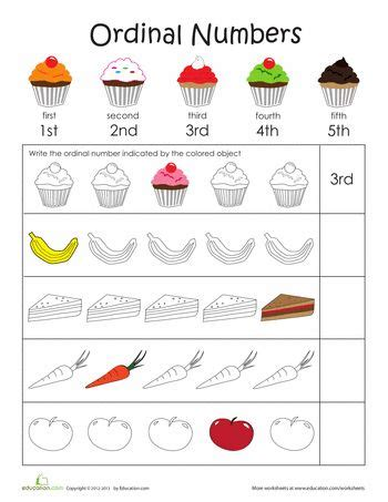 43 best images about ordinal numbers on pinterest pocket