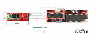 Laser Tag Bluetooth Circuit Diagram