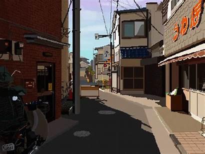 Japanese Pixel Tokyo Dribbble Gifs Subway Setagaya