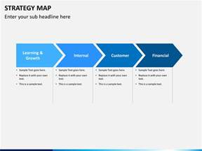 Strategic Plan Template Excel Strategy Map Powerpoint Template Sketchbubble