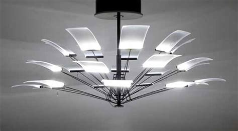 Modern Chandelier Reinterpretation By Denise Hachinger