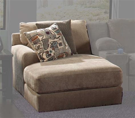 chaises taupe jackson malibu large chaise sectional with ottoman 3239 set 2 taupe homelement com