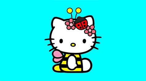Hello Kitty Coloring Pages For Kids ♥ Hello Kitty Coloring