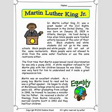 Martin Luther King Jr  Martin Luther, Vocabulary Worksheets And Martin O'malley
