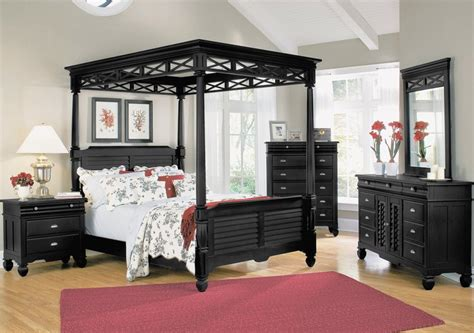black bedroom furniture   elegant design idea