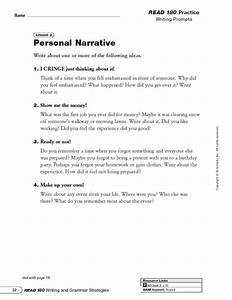 personal narrative speech topics