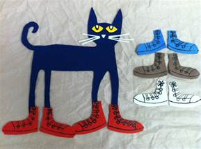 I Love My White Shoes Pete the Cat Felt Story