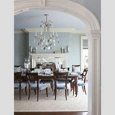 25+ Blue Dining Room Designs, Decorating Ideas  Design