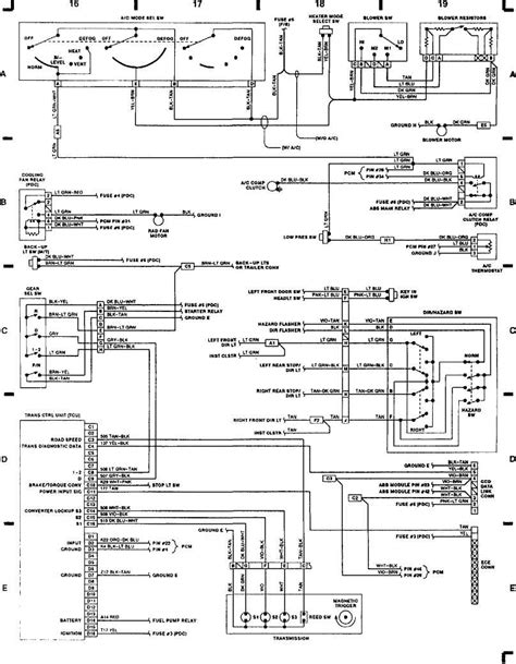 1989 Jeep Ignition Switch Diagram by Wiring Diagrams 1993 Jeep Xj Jeep