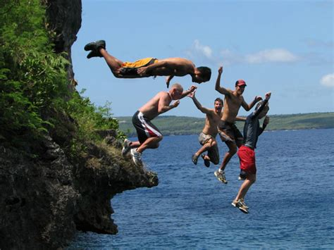 How To Jump Off A Cliff Like A Pro Without Getting Hurt