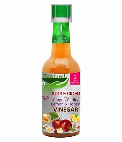 Cider Apple Vinegar Ginger Garlic Honey Lemon