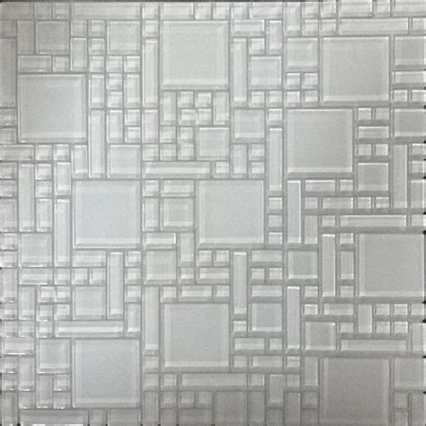 mosaic tile shop instant mosaic white versailles mosaic glass wall Instant