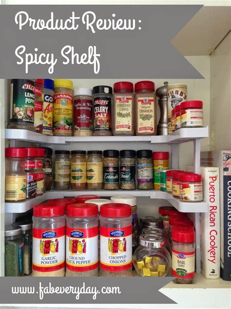 Large Spice Organizer by Product Review Spicy Shelf Space Saving Cabinet Spice