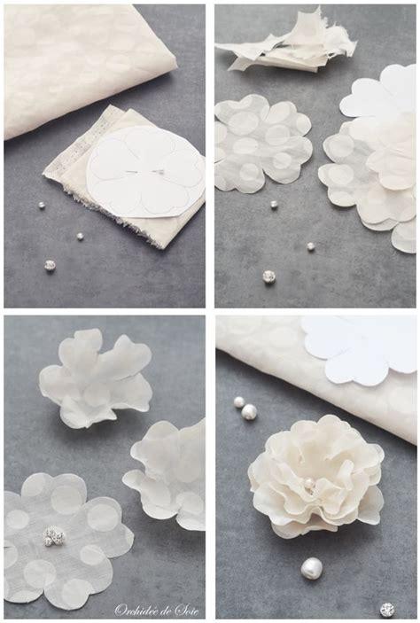 17 meilleures id 233 es 224 propos de tutoriel fleurs en tissu sur fleurs en tissu fleurs