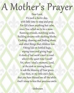 A Mother's Prayer - St. Joan of Arc Catholic Church