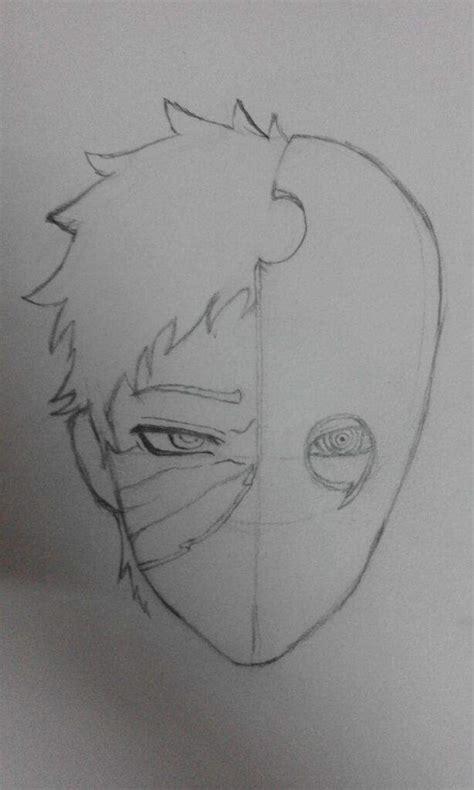 drawing obito uchiha anime amino