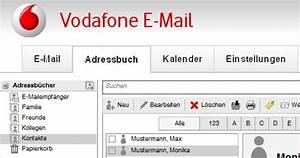 Vodafone Rechnung Email : apps cloud e mail so funktioniert das adressbuch bei ~ Themetempest.com Abrechnung
