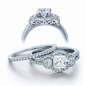 Wedding ring set on jeenjewels for Wedding ring sets uk