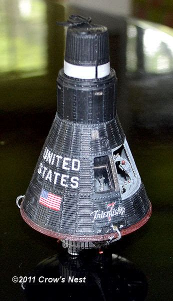 mercury spacecraft kit  crows nest culttvmans