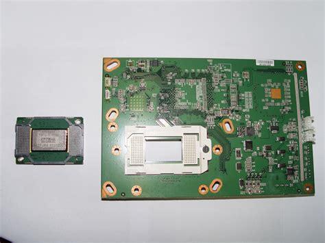 Mitsubishi 73 Dlp White Dots by 4719 001997 Dlp Chip