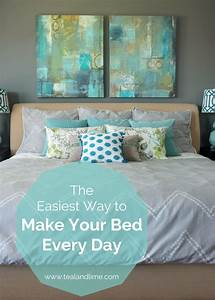 The Easiest Way to Make Your Bed Every Day