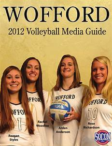 ISSUU - 2012 Wofford Volleyball Media Guide by Brent ...