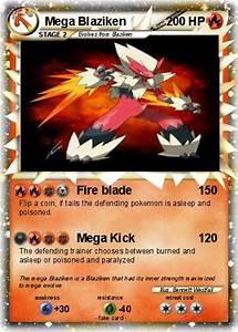 Pokémon Mega Blaziken 94 94 - Fire blade - My Pokemon Card