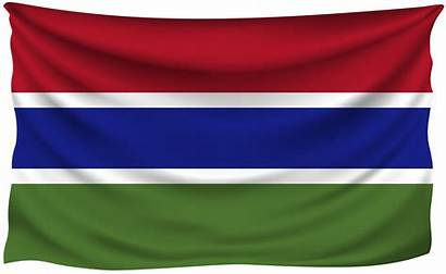 Flag Gambia Wrinkled Yopriceville Transparent
