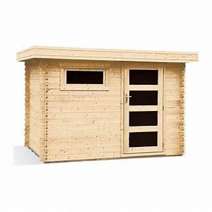 Abri Bois Pas Cher : abris bois toit plat pas cher ~ Dailycaller-alerts.com Idées de Décoration