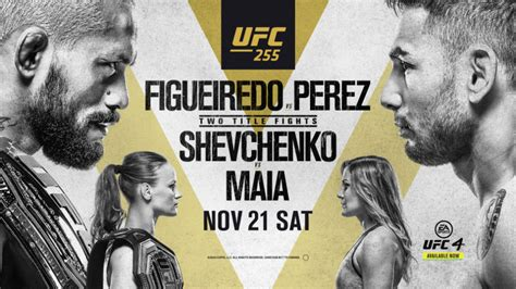 UFC 255: Figueiredo vs. Perez fight card, date, time in ...