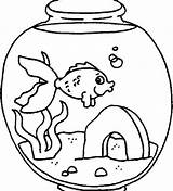 Fish Tank Coloring Pages Drawing Feeling Clipart Lonely Fishes Tiger Cat Template Simple Getdrawings Whith Drawings Netart Popular Sketch Adults sketch template