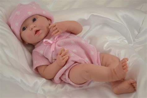 La Newborn Real Girl Baby Doll