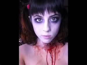 Halloween Dead Cheerleader Makeup