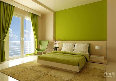 绿色豪华卧室装修效果图 卧室 我装网wozhuang
