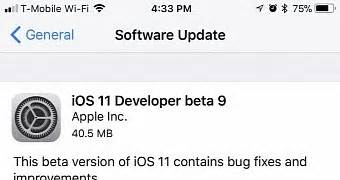 apple releases ios 11 dev beta 9 beta 8 ahead of iphone 8 launch ios mode