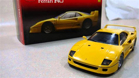 Yellow F40 by 京商 Kyosho 1 18 F40 Yellow