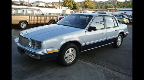 how do cars engines work 1989 buick century on board diagnostic system 1989 buick skylark custom 26 000 orig mi 1 owner gm 3100 v6 video review 4 sale youtube
