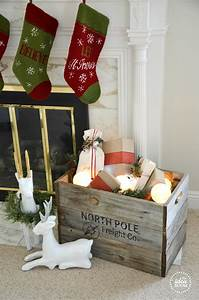 Pinterest Decoration : christmas crate christmas decor the idea room ~ Melissatoandfro.com Idées de Décoration