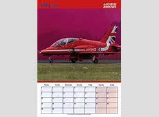 Red Arrows 2019 Calendar The Fans Calendar Red Arrows
