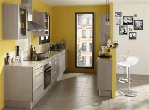 meuble cuisine jaune commentaire maison cuisine mur jaune lapeyre le