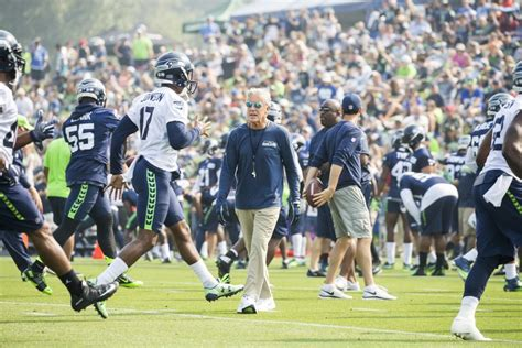 seahawks announce training camp   july