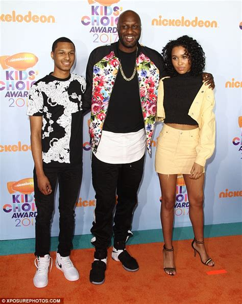 Lamar Odom's daughter speaks out about Khloe Kardashian ...