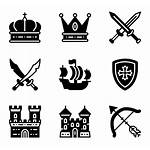 Medieval Icon Icons Library Packs Font Knight