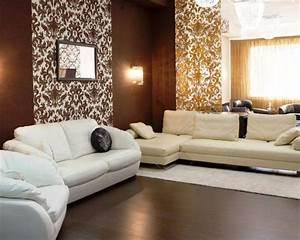 Tapeten Wohnzimmer Beispiele : tapeten f r wohnzimmer w hlen 17 ideen f r moderne wandgestaltung ~ Sanjose-hotels-ca.com Haus und Dekorationen