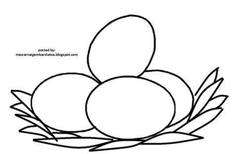 mewarnai gambar mewarnai gambar telur