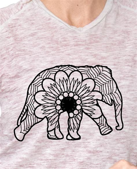 I am blown away by this collection of animals by caluya design. Baby Elephant Mandala Animal Svg Pdf Mandala Svg ...