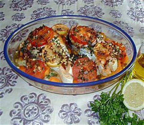 cuisiner le poisson au four les meilleures recettes de poisson au four