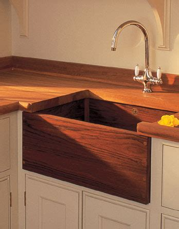 Belfast Teak Farmhouse Sink   Sinks Gallery