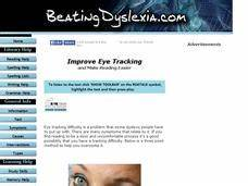How to Improve Eye Tracking to Make Reading Easier Lesson ...